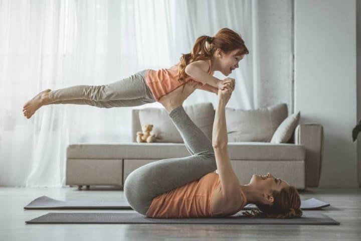 Yoga para niños, una actividad familiar Foto El País