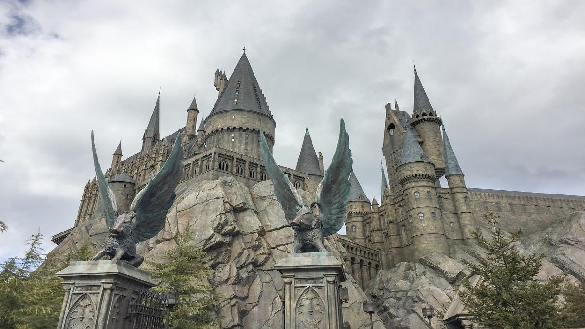 hogwarts castle. Foto Pen ash (1)
