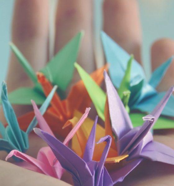 Origami. Foto Archivo