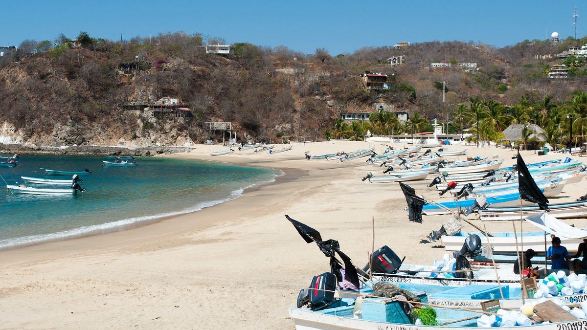 Puerto Ángel. Foto Archivo.