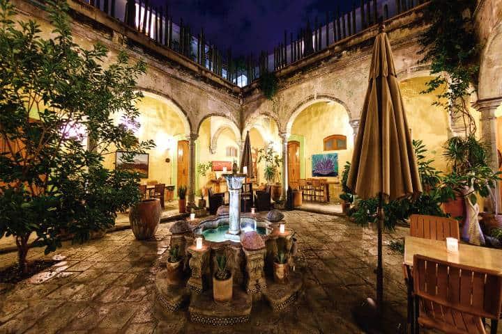 ¿Dónde hospedarte en Oaxaca? Eso no es problema Foto: Hotel Casa de Sierra Azul