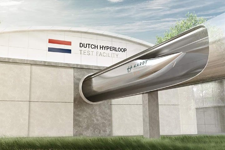 Ahora los viajes serán más rápidos en Hyperloop Foto HARDT