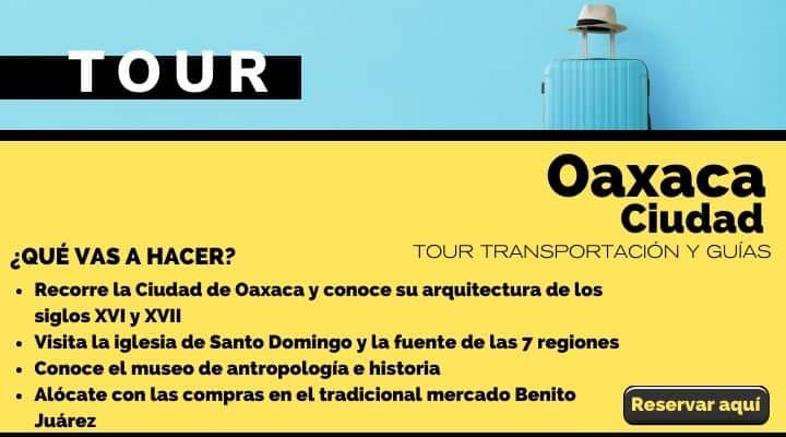 Tour por la Ciudad de Oaxaca. Arte El Souvenir