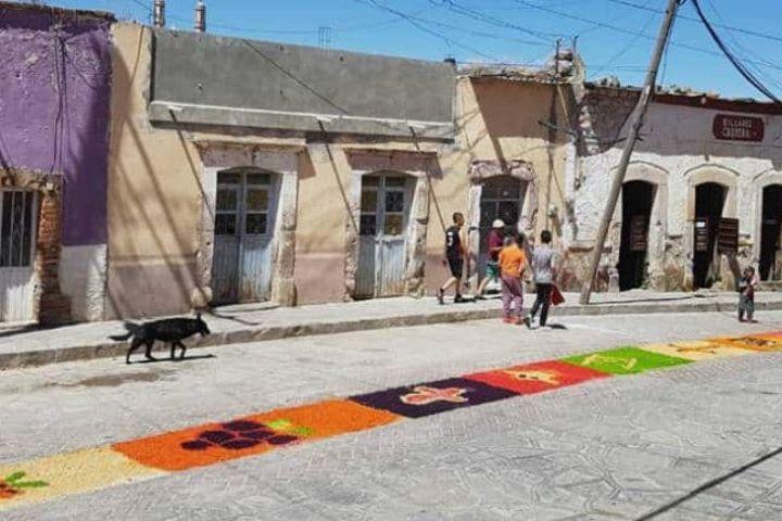 Arte en Vetagrande, Zacatecas. Foto: Victor Blasquez