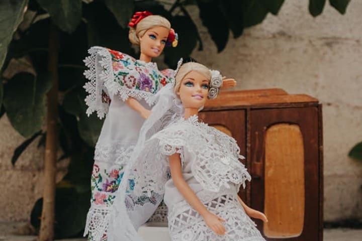 Barbie y su mamá antes de la boda Foto Karla Puch
