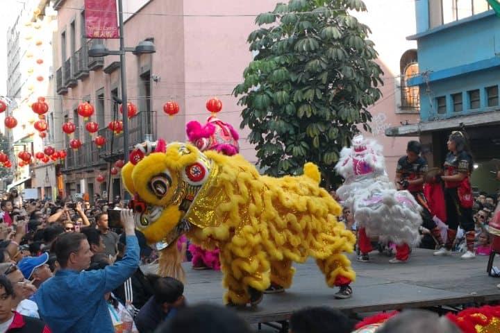 Entres las fiestas y ferias en Ciudad de México está el Año Nuevo Chino Foto: Qore
