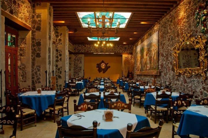 Un espacio elegante dónde comer en la Ciudad de México es este restaurante Foto: Archivo