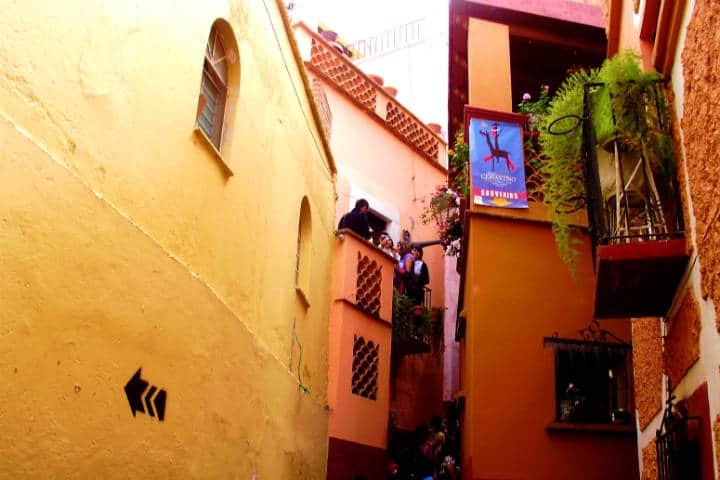 ¿Qué hacer en Guanajuato? Pues visita el Callejon del Beso Foto: Israel Aguilar