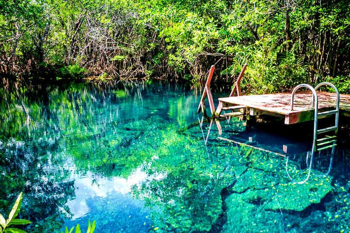 La vista de la naturaleza es increíble Foto: Hacienda Tres Ríos
