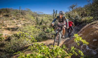 Ciclismo de montaña en Baja California Sur Foto Rancho Cacachilas