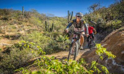 Ciclismo de montaña en Baja California Sur. Foto: Rancho Cacachilas