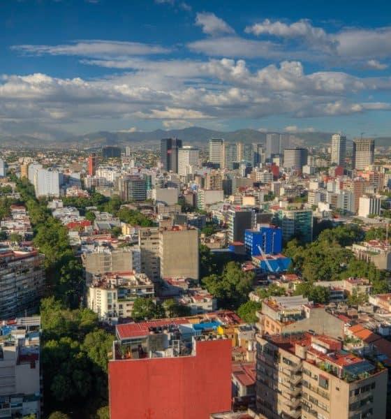 Ciudad de México desde las alturas Foto ap0013