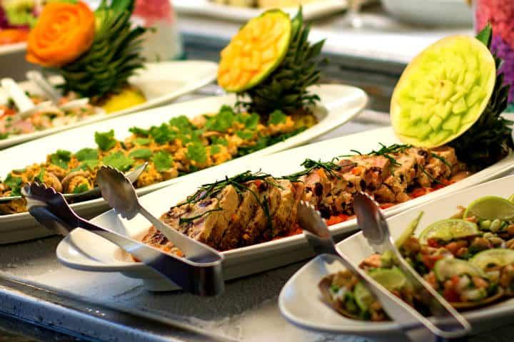 La comida está incluida en el servicio del hotel Foto: Hacienda Tres Ríos