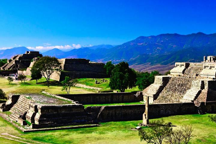Conoce Monte Albán en Oaxaca, Ciudad Patrimonio Foto: México