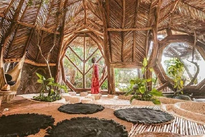 Hotel Azulik es un destino perfecto para hospedarte en Tulum Foto: Hotel Azulik