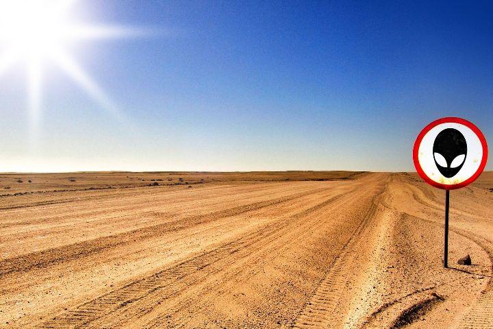 ¿Dónde hacer turismo ufológico o extraterrestre?. Area 51. Foto: Elias Sch