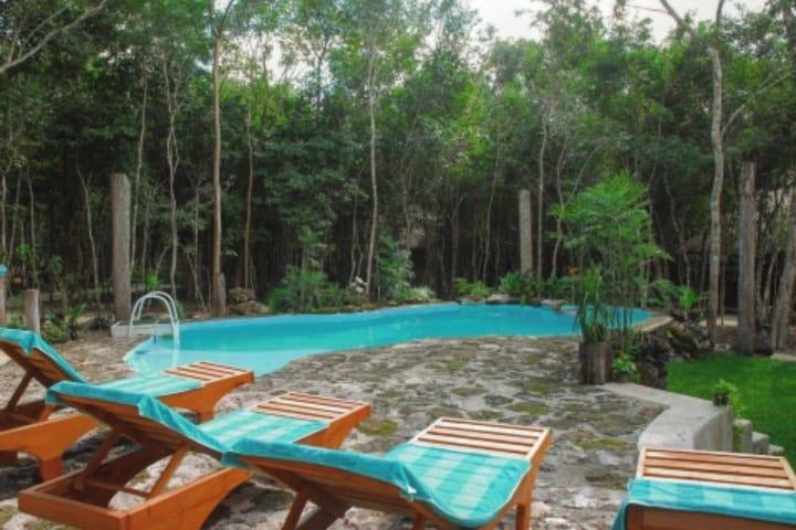 El Hotel Puerta Calakmul está en contacto total con la naturaleza Foto Hotel Puerta Calakmul | Facebook