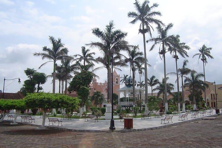 El centro de Tlacotalpan. Foto por Douglas Dreher