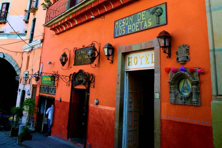 ¿Dónde hospedarse en Guanajuato? El Mesón de los poetas es una opción Foto: El Mesón de los Poetas