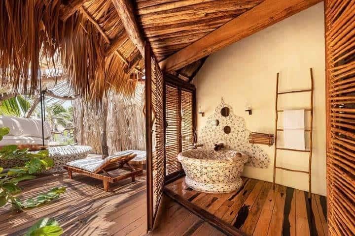 Habitaciones del hotel Foto: Hotel Azulik