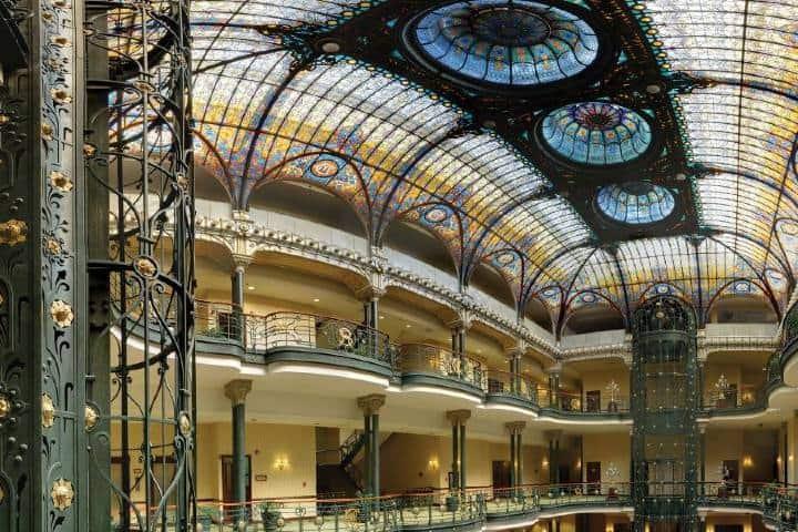 El Gran Hotel de la Ciudad de México añade lujo a tu viaje Foto: Gran Hotel de la Ciudad de México