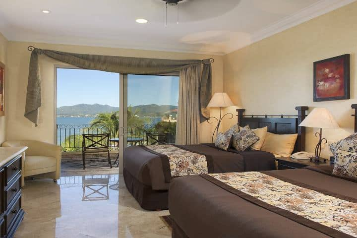 Las habitaciones de este hotel de lujo de Riviera Nayarit te ayudarán a tener un gran descanso Foto: Villa La Estancia