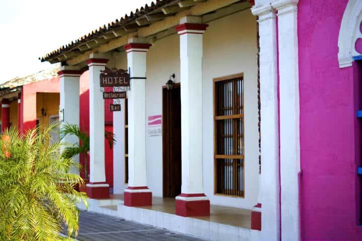 Hotel Casa del Río es una opción si no saben dónde hospedarse en Tlacotalpan Foto: Hotel Casa del Río