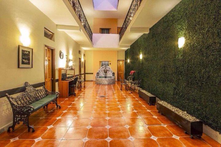 Los hoteles donde hospedarse en Ciudad de México están en una zona céntrica cómo el Hotel Templo Mayor Foto: Compass Hotel Solutions