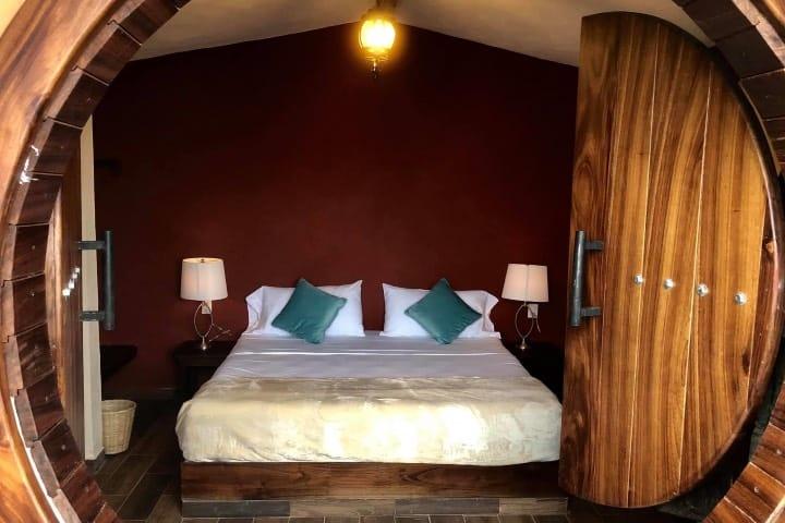 Interior de las habitaciones del hotel Foto Hotel Tapasoli | Facebook