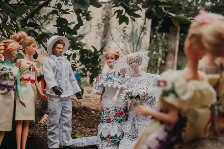 La boda de Barbie en Yucatán con Action Man fue un éxito Foto Karla Puch