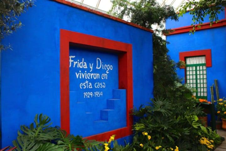 ¿No sabes que hacer en la Ciudad de México? Visita el hogar de Frida y Diego Foto: La Casa Azul