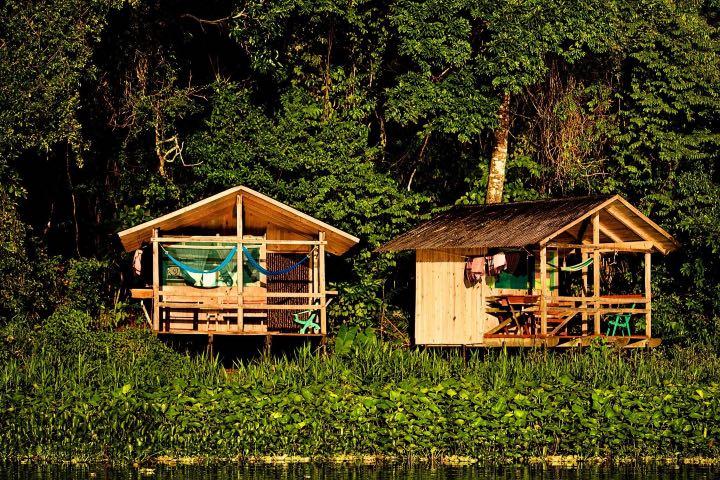Las villas de Nanciyaga están en el medio de la naturaleza Foto Reserva Ecológica Nanciyaga | Facebook