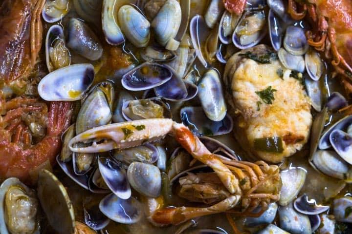 Los mariscos son una especialidad de la gastronomía de San Blas Foto Pau Casals