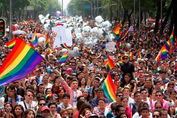 Marcha LGBT 2020 en México será online Foto: Escandala
