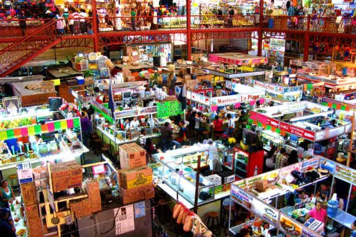 ¿No sabes dónde comer en Guanajuato? Disfruta en el Mercado Hidalgo Foto Paula Soler-Moya