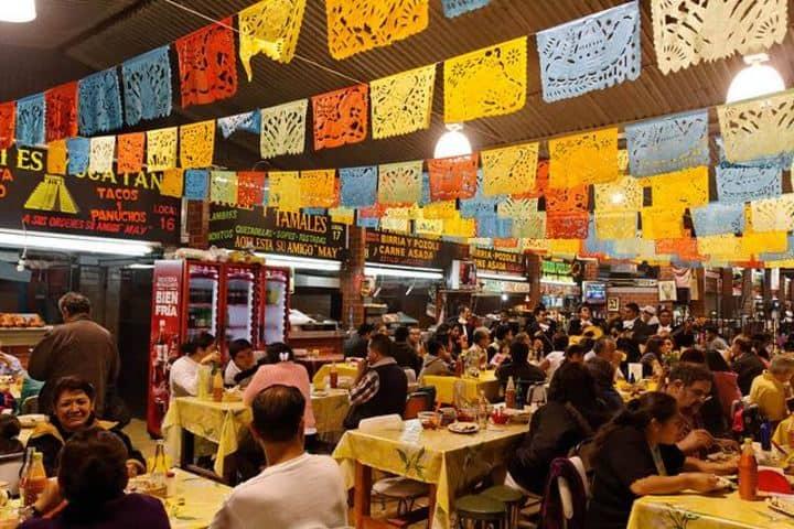 Si no sabes dónde comer en la Ciudad de México puedes ir a este mercado y degustar de sus delicias Foto: Dónde ir