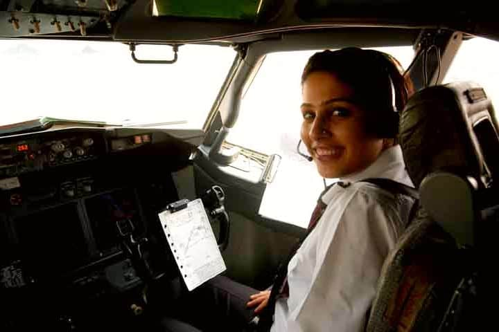 Mujeres piloto en Air India