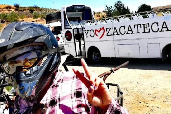 Offroad. Vetagrande, Zacatecas. Foto: Luis Juárez