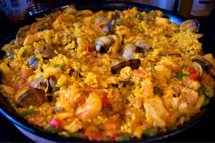 Podrás disfrutar de la paella en su totalidad Foto: Javier