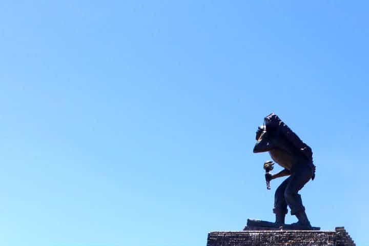 Estatua del Pipila Foto: Diógenes