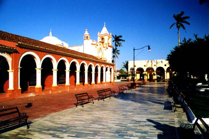 Portales en Tlacotalpan, Ciudad Patrimonio Foto: AboGabo