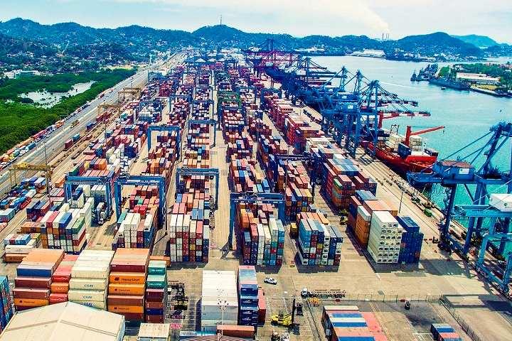 Puerto de Manzanillo, el más importante de México. Foto: SCT México
