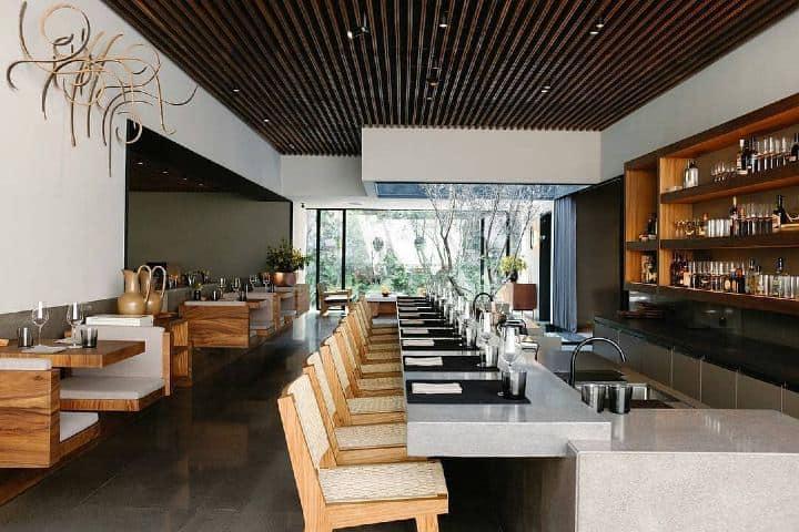 En el restaurante Pujol la elegancia se hace presente Foto: Stagings