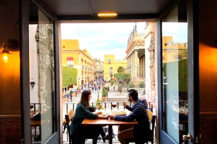 Dónde comer en Guanajuato, ¡En Trattoria! Foto: La Trattoria Guanajuato