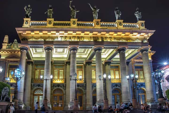 Teatro Juarez Foto Al Case