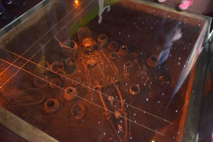 Tumba de Tiro en la zona arqueológica La Campana Foto: Flickr