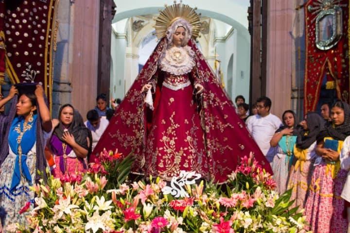 Una de las fiestas y ferias de Oaxaca es La mayordomía Foto Vive Oaxaca