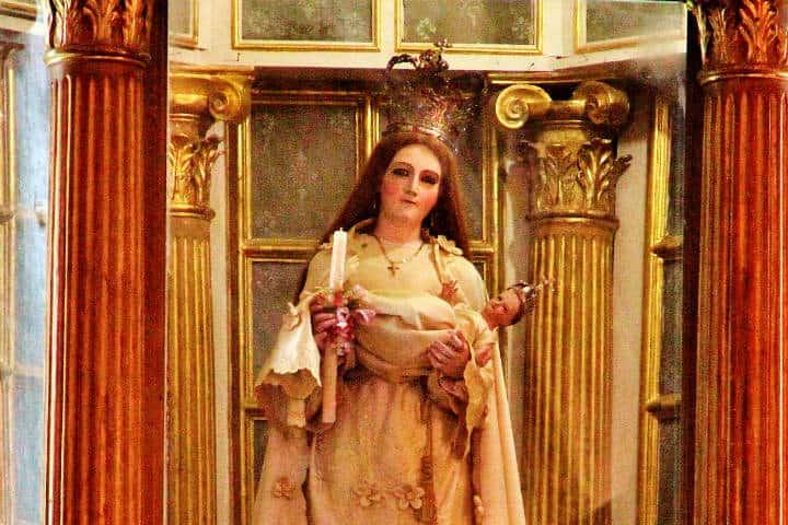 ¿Qué hacer en Tlacotalpan? Virgen de la Candelaria Foto: Catedrales e Iglesias