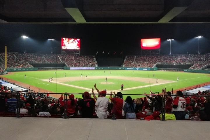 Vista del campo de juego al entrar al recinto Foto Fernando Bautista