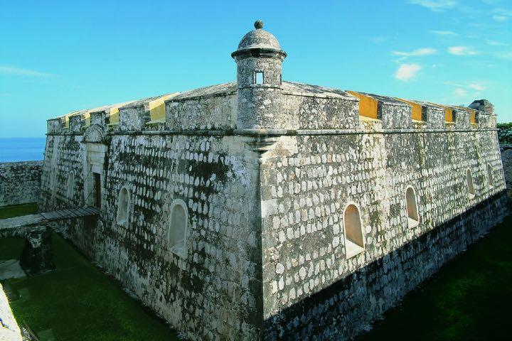 ¿Cosas que hacer en Campeche? Conoce los Baluartes Foto Comisión Mexicana de Filmaciones
